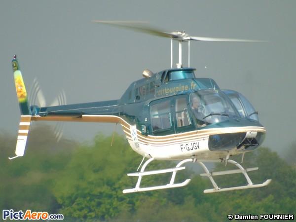 206B Jet Ranger III (Air Touraine Hélicoptère)