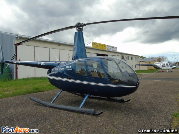 Robinson R-44 Clipper II (Azur Hélicoptère SARL)