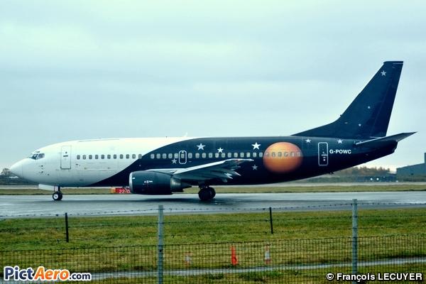 Boeing 737-33A (Titan Airways)