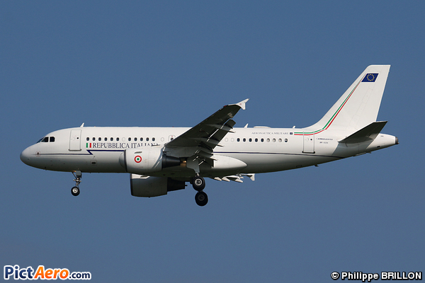 Airbus A319-115X/CJ (Italy - Air Force)