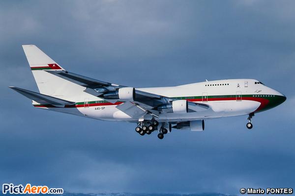 Boeing 747SP-27 (Oman - Royal Flight)