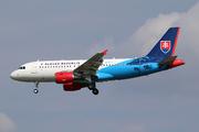 Airbus A319-115X/CJ (OM-BYA)