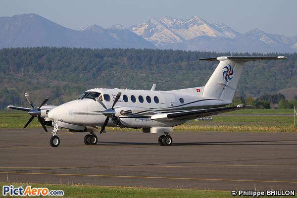 Beech Super King Air 200 (Swiss Flight Services)