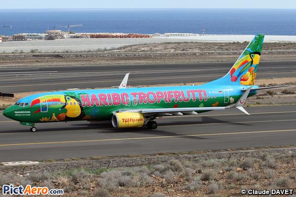 Boeing 737-8K5/WL (TUIfly)