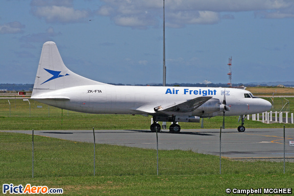Convair 580F (Air Freight NZ)