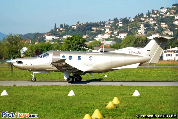 Pilatus PC-12/47E (Jetfly Aviation SA Luxembourg)
