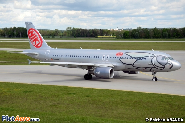 Airbus A320-214 (Niki (Air Berlin))