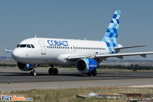 Airbus A319-112 (Cobalt Air)