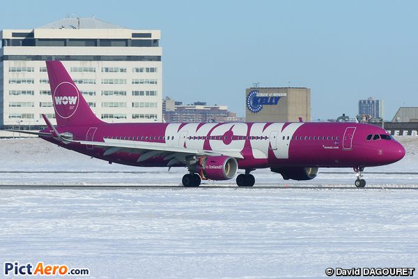 Airbus 321-211/WL (WoW Air)