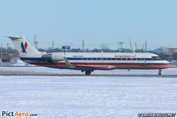 Canadair CL-600-2B19 Regional Jet CRJ-200ER (American Eagle (Skywest Airlines))