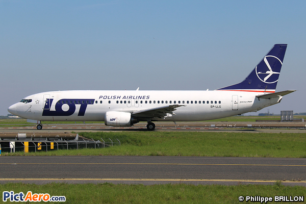 Boeing 737-45D (LOT Polish Airlines)