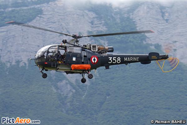 Aérospatiale SA-316B Alouette III (Marine Nationale)