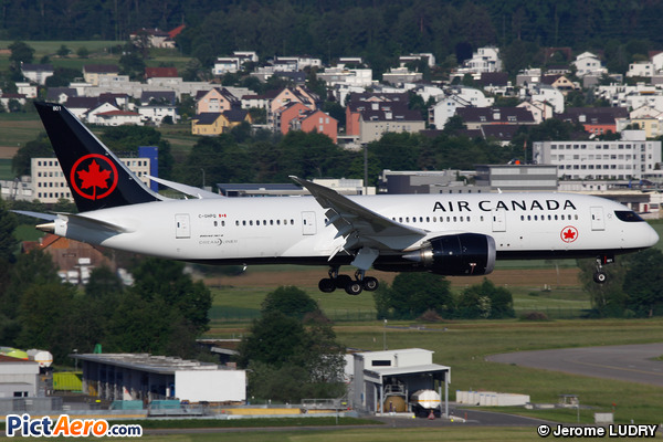 Boeing 787-833 Dreamliner (Air Canada)