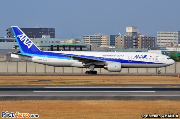 Boeing 777-281 (All Nippon Airways)