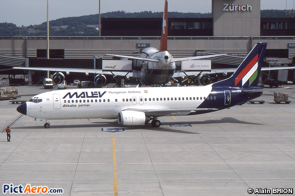 Boeing 737-4Y0 (Malév Hungarian Airlines)