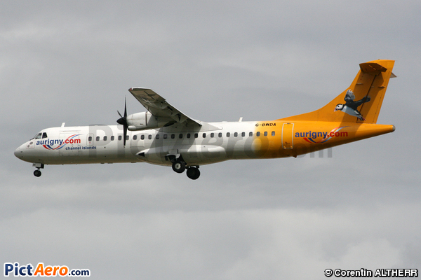 ATR 72-202 (Aurigny Air Services)