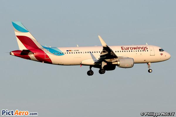 Airbus A320-214/WL (Eurowings)