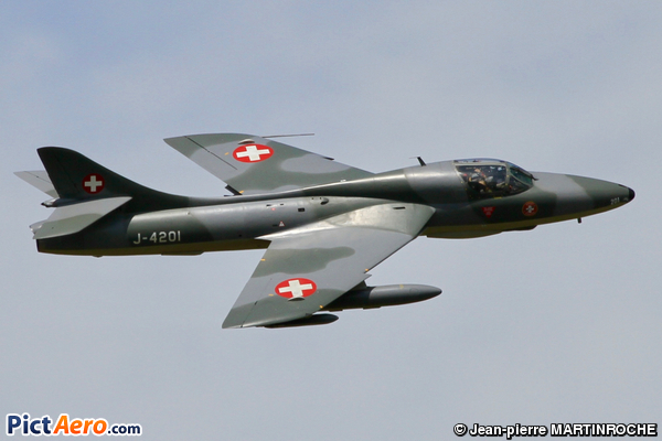 Hawker Hunter T68 (Switzerland - Air Force)