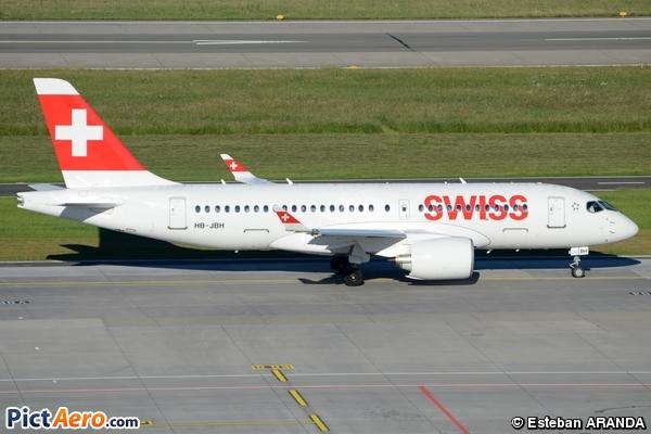 Bombardier CSeries CS100 (BD-500-1A10) (Swiss Global Air Lines)