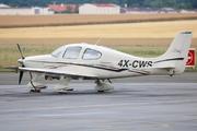 Cirrus SR-22 (4X-CWS)