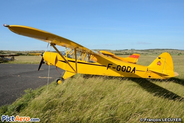 Piper PA-18A-150 Super Cub (Privé )