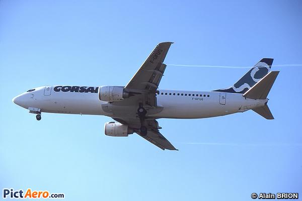 Boeing 737-4B3 (Corsair International)