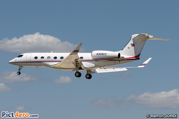 Gulfstream G650 (CARNIVAL CRUISE LINES)
