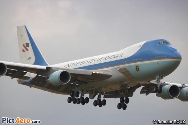 Boeing VC-25A (747-2G4B) (United States of America (USAF))