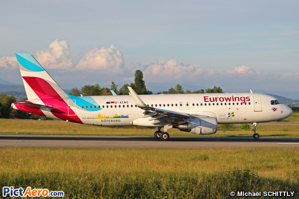 Airbus A320-214 (WL) (Eurowings)
