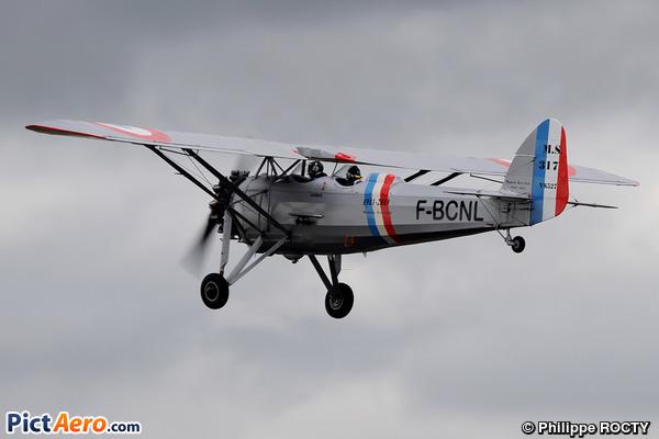 Morane-Saulnier MS-317 (Amicale Jean Baptiste Salis)