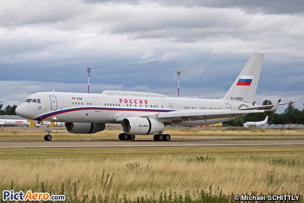 Tupolev Tu-214 (Russia - Air Force)