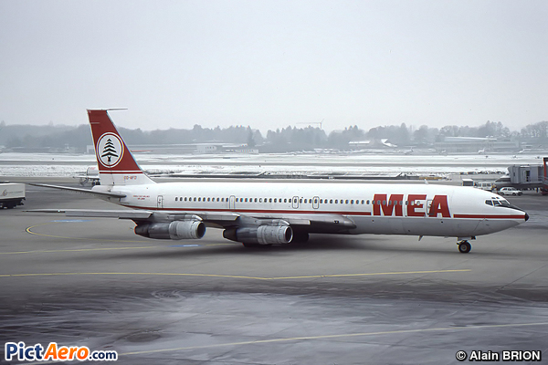 Boeing 707-3B4C (Middle East Airlines (MEA))