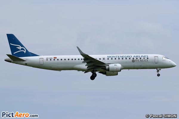 Embraer ERJ-195LR (ERJ-190-200LR) (Montenegro Airlines)