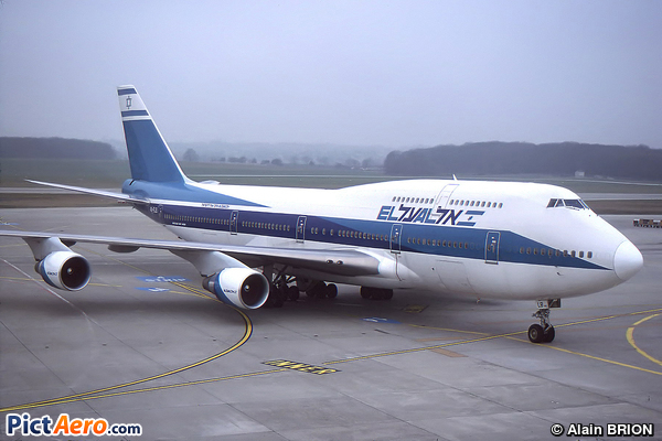 Boeing 747-458 (El Al Israel Airlines)