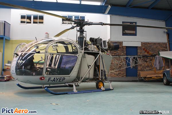 Aerospatiale SA-313B Alouette ll (Hélidan)