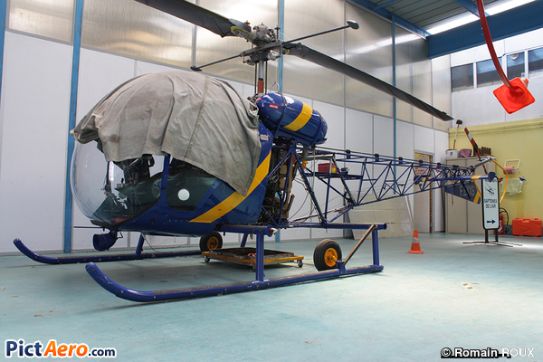 Agusta-Bell AB-47G (Hélidan)