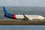 Boeing 737-8Q8(WL) (PK-CRC)