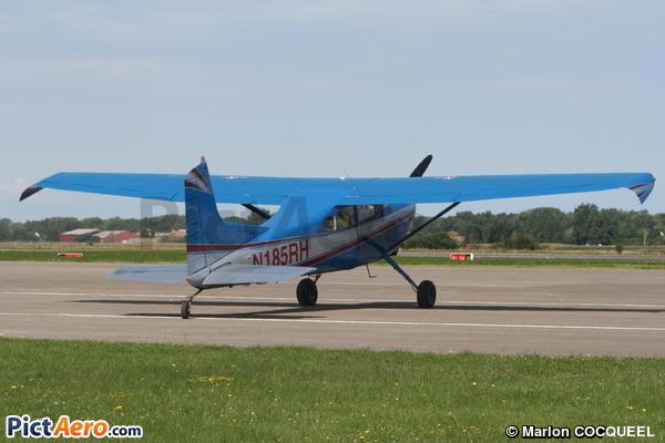 Cessna 185A Skywagon (Privé)
