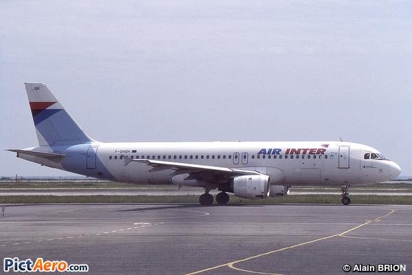 Airbus A320-211 (Air Inter)