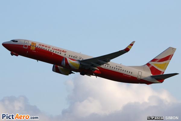 Boeing 737-84P/WL (Lucky Air)