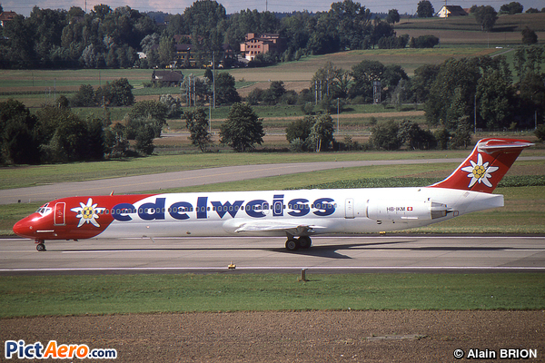 McDonnell Douglas MD-83 (DC-9-83) (Edelweiss Air)