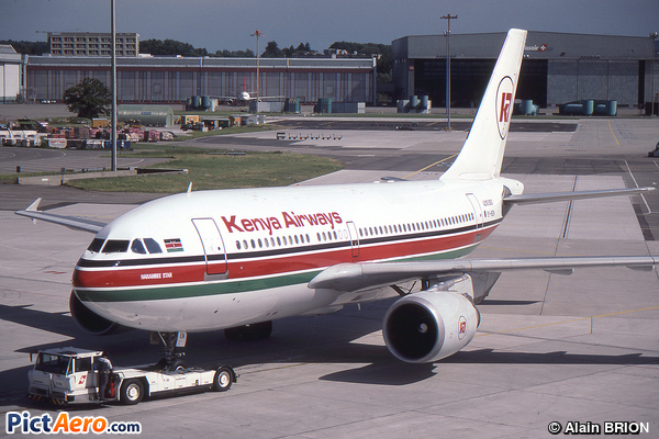 Airbus A310-304 (Kenya Airways)