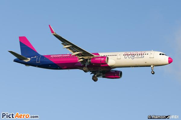 Airbus A321-231/WL (Wizz Air)