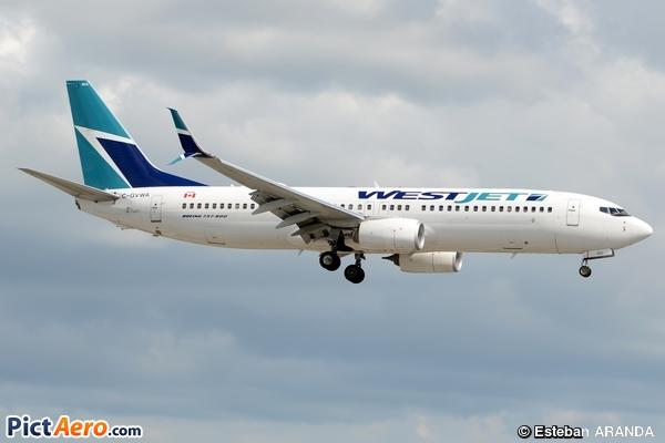 Boeing 737-8CT (WL) (Westjet)