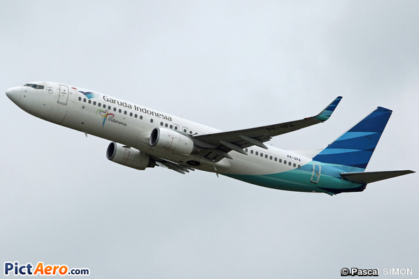 Boeing 737-86N(WL) (Garuda Indonesia)