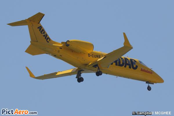 Learjet 60XR (ADAC Luftrettung)