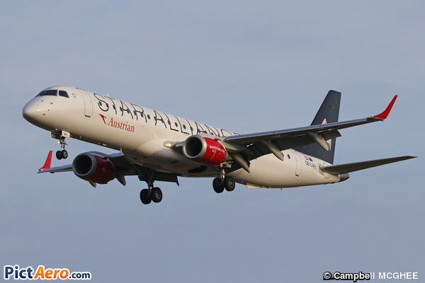 Embraer ERJ-195LR (ERJ-190-200LR) (Austrian Airlines)
