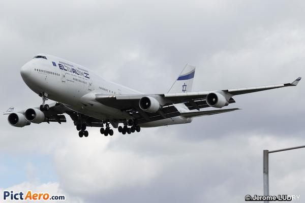 Boeing 747-412 (El Al Israel Airlines)