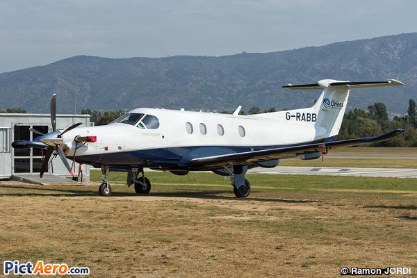 Pilatus PC-12/47E (Oriens Leasing Ltd.)