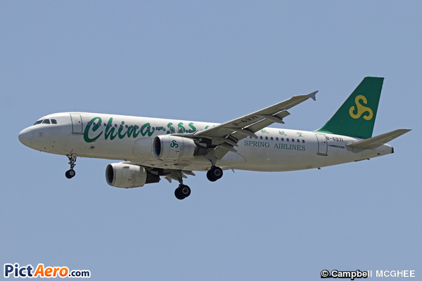 Airbus A320-214 (Spring Airlines)